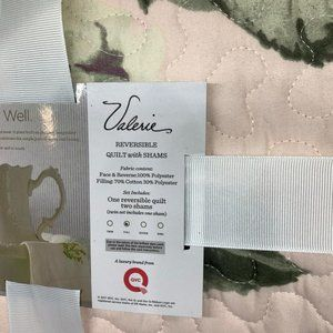 Reversible Quilt with Shams Full Size